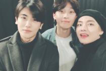 【BTS V &パク・ヒョンシク&パク・ソジュン】花郎兄弟が仲良しすぎると話題♡!