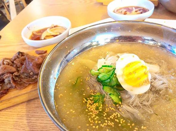 コサム冷麺