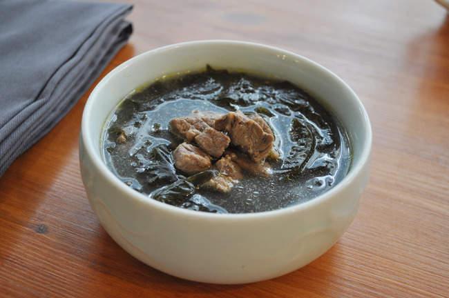 わかめスープ